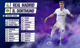 Real Madrid's Kroos, Morata return for Dortmund test