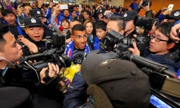 Tevez receives rapturous welcome as lucrative Shanghai stay starts