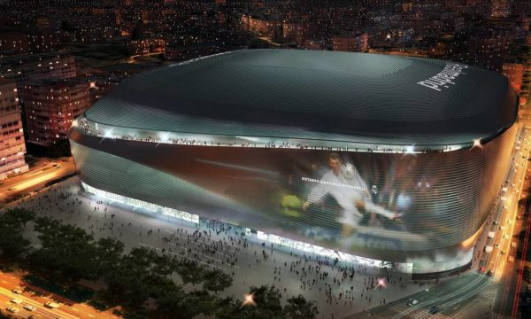 The project of the new Real Madrid stadium