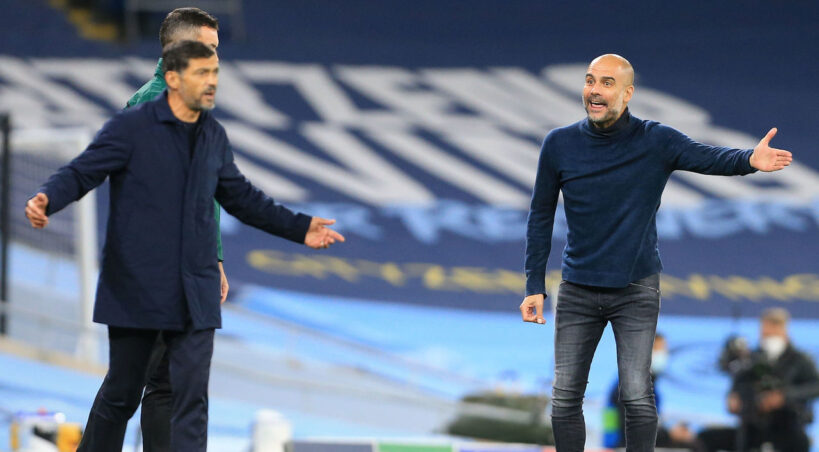 Porto boss Conceicao slams Guardiola: His attitude 'wasn't very pleasant'
