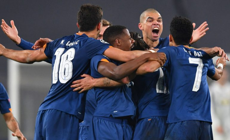 10-man Porto eliminate Juventus on away goals after extra-time madness